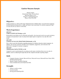 100 resume for cvs cashier formal lab report outline