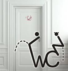 klo sprüche wc türaufkleber wandtattoo toilette badezimmer flur aufkleber tür