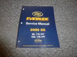 2000 evinrude 90 115 150 175 hp ffi outboard motor shop service