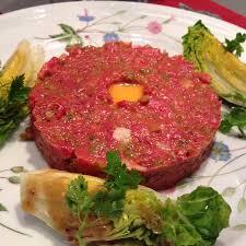 cuisine chambon tartare très bien assaisonné picture of bistrot chambon brive la