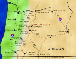 map of oregon state parks directions smithrock smith rock state park guide smith