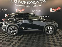 lexus nx 200t black interior used 2017 lexus nx 200t 4 door sport utility in edmonton ab l12864