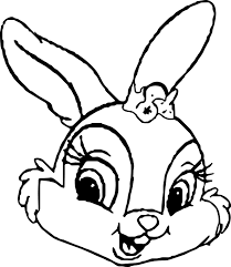 easter bunny coloring pages easter bunny coloring page with happy