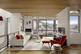 splendid multilevel floor of home office and living room design