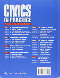amazon com civics in practice student edition 2011