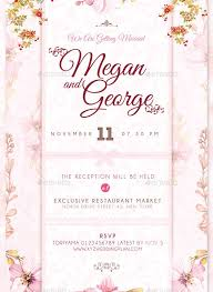 invitation designs 75 high quality wedding invitation card designs psd indesign