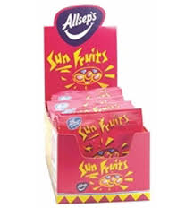 allseps bags of sun fruits x 21 tasteful delights
