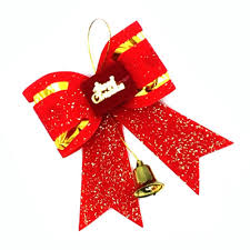 10 pcs lot wholesale christmas big bow tie type xmas decorations