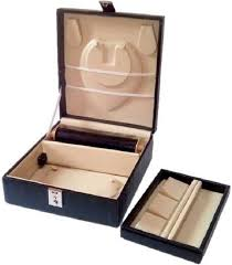 jewellery box rings images Addyz high quality velvet locker jewellery box necklaces chain jpeg