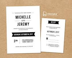 wedding invitations rsvp diy free pdf printable wedding invitation and rsvp wedding