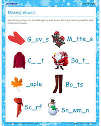 missing vowel u2013 english worksheet for 2nd grade u2013 jumpstart