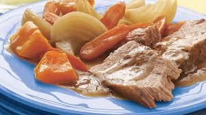 cuisiner le roti de porc recette de rôti de porc érable et sauge à la mijoteuse