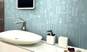 farbe fã rs badezimmer tapete wasserfest tapeten walldeco auch wasserfest fa 1 4 r in