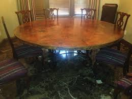 Copper Dining Room Tables What Of Chairs For A Copper Dining Table