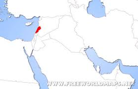lebanon on the map where is lebanon located on the world map