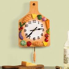 kitchen wall clock teapot shape black color unique wall clock bar