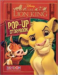 lion king walt disney pop storybooks walt disney
