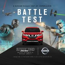 nissan rogue star wars star wars themed vr project stars nissan rogue the news wheel