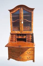 image bureau biedermeier walnut bureau bookcase early 19th century