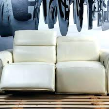 White Leather Recliner Sofa Modern Leather Recliner Sofa Design Gradfly Co