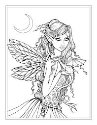 tooth fairy coloring page fantasy coloring pages tooth fairy coloringstar