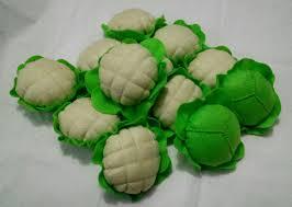 Toy Kitchen Set Food Felt Cabbage And Cauliflower Kids Toys Kitchen Toys Fake Food