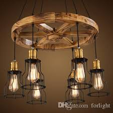 Wooden Chandeliers Pendant Lights Creative Wooden Chandelier Ls Personalized