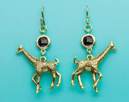giraffe earrings giraffe earrings sapphire giraffe earrings sapphire