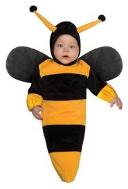 Newborn Baby Costumes Halloween Amazon Rubie U0027s Costume Deluxe Baby Bunting Bumble Bee