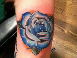 21 unique blue rose tattoo designs slodive