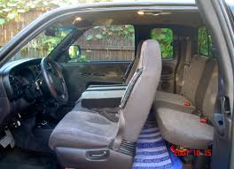 myride 65 in rear seat of 2001 dodge ram crew cab radian possible