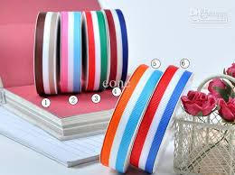 3 8 inch ribbon 100 yards candy color striped 3 8 inch 5 8 inch 1 inch 1 1 2 inch