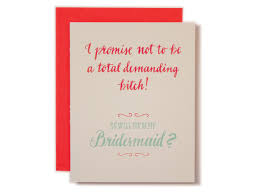invitations for bridesmaids our favorite will you be my bridesmaid cards
