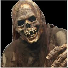 the walking dead skeletal indifference walker mask mad about horror