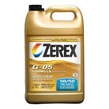 bmw e46 coolant type amazon com zerex g 05 antifreeze coolant ready to use 1gal