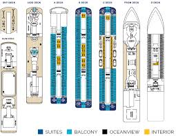 deck plan and ship layout for carnival u0027s fathom adonia
