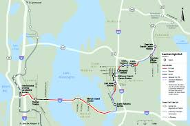 Seattle Link Rail Map City Of Bellevue And Sound Transit Clash Over Light Rail