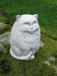 large cat garden ornaments uk cat garden ornaments uk large