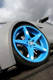 bmw beamer blue neon blue alloys of the leib engineering super tuned bmw 1 series