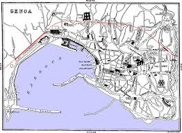 Genoa Italy Map The South Of France U2014east Half The Riviera
