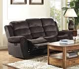 Chenille Reclining Sofa by Merritt Reclining Sofa Dock86 Spend A Good Deal Less On