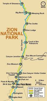 map of zion national park 20 best america zion np images on landing zion