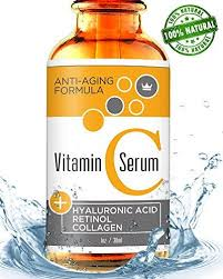 Serum Ql vitamin c serum for with retinol hyaluronic acid usa