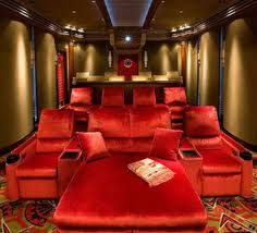amusing home theatre furniture with recliners leather sofa and