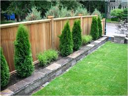 Privacy Fence Ideas For Backyard Cool Fence Ideas Privacy Fence Ideas For Decks Anniegreenjeans
