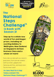 Challenge Steps The National Steps Challenge Is Back With Season 2 Sign Up Now