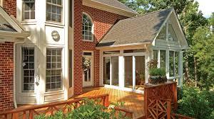 Patio Room Designs Glass Windows For Screened Porch Design Karenefoley Porch And