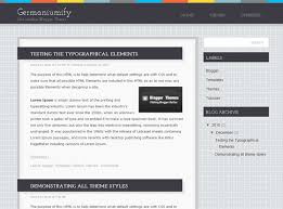 templates blogger themes germaniumify blogger theme blogger themes and blogger templates