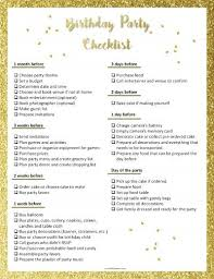 printable party planner checklist free printable party planning checklist to ensure that you don t