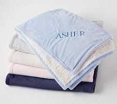 engraved blankets baby personalized monogrammed gifts for babies toddlers pottery